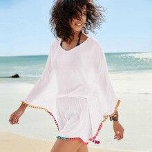 Белые пляжные костюмы Cover Ups Лето сексуальное бикини Парео Пляжная накидка пляжная одежда женское платье ванный комплект Cover up