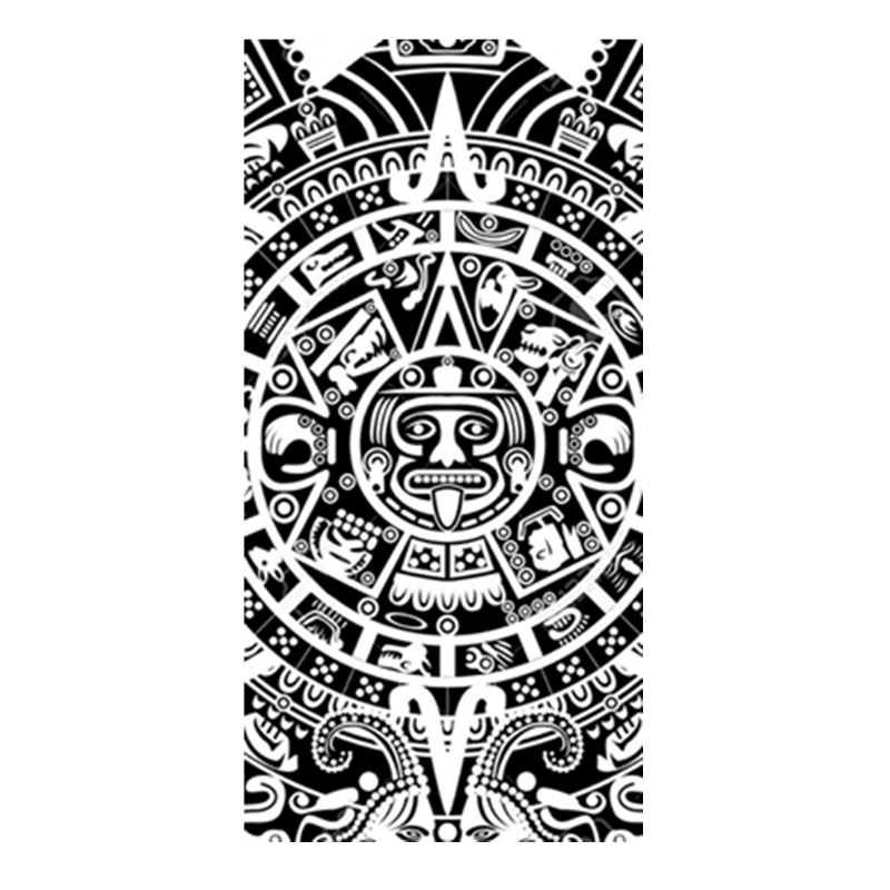 Ethic Aztec Mayan Calendar Maya Symbol