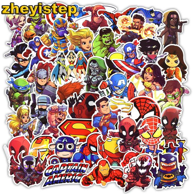 Super Hero Stickers Vinyl Decals