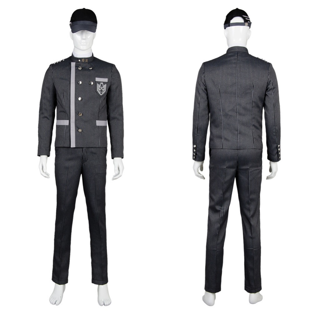 Danganronpa V3: Saihara Shuichi Uniform Outfit Cosplay Costume Full Sets