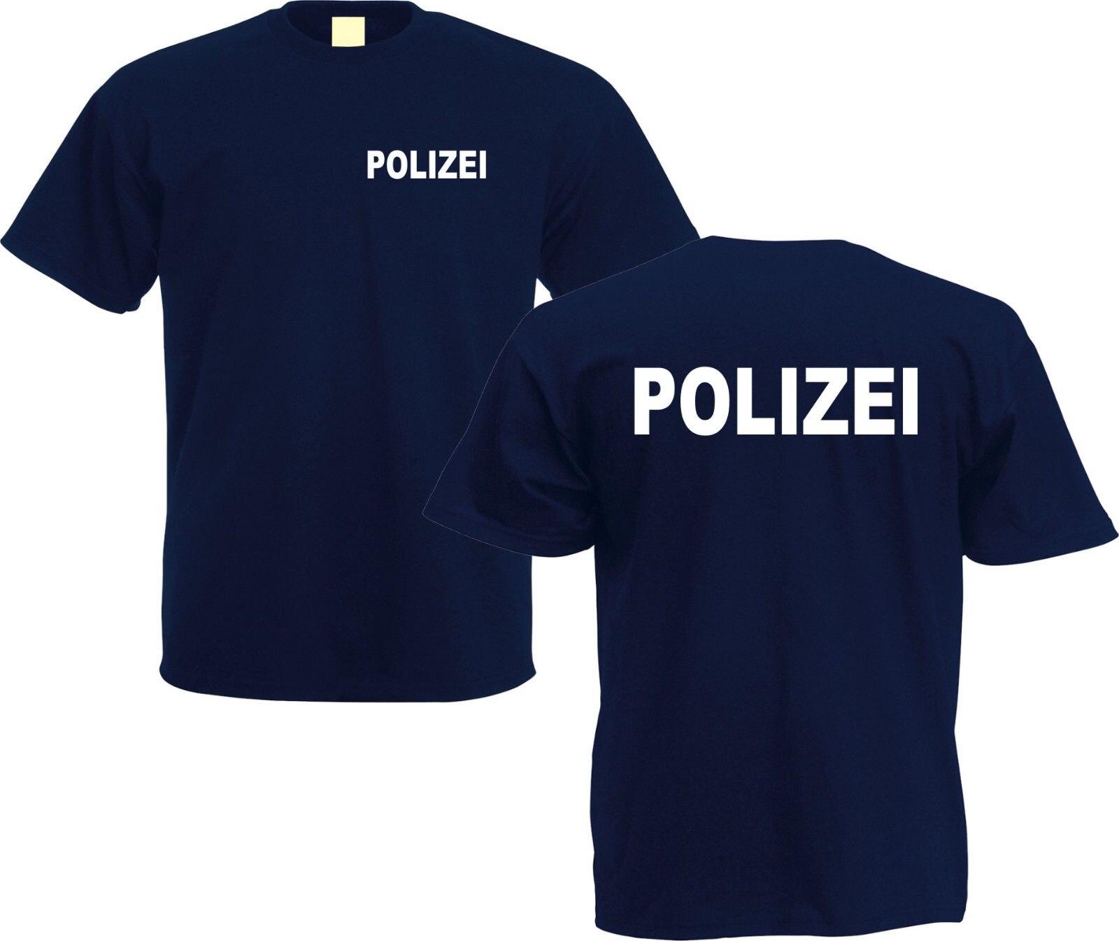 Polizei T Shirt Sicherheit Sicherheit GSG 9 Spaß Funshirt männer t-shirt hip hop freund geschenk