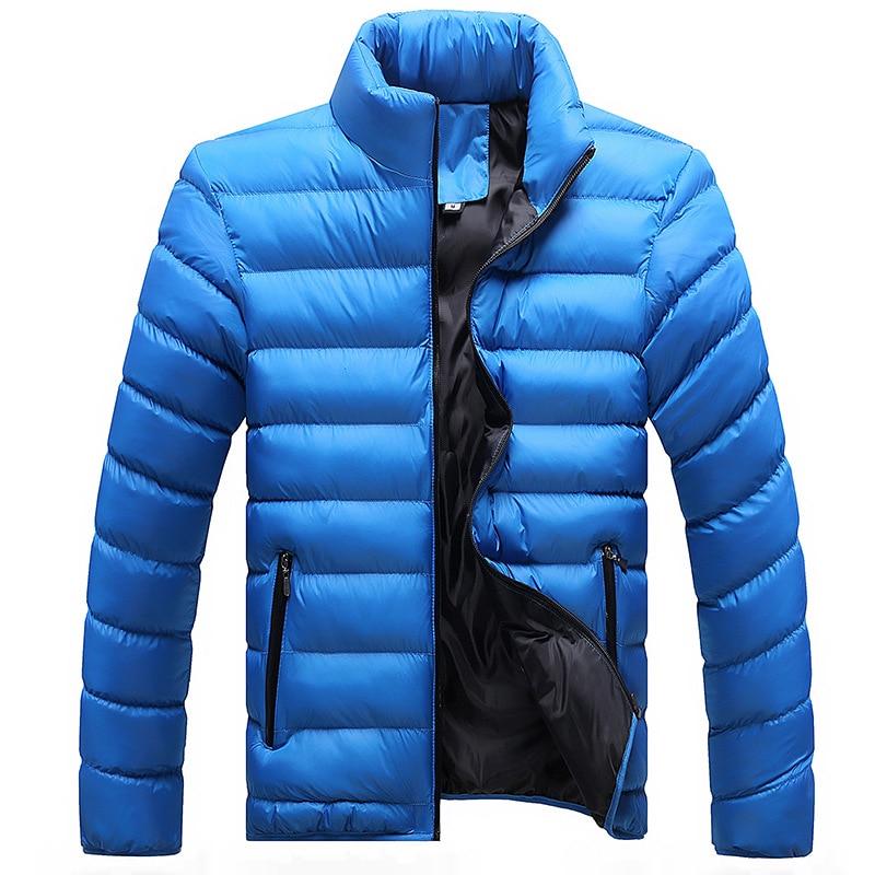 Épais Mâle Blue Veste De Mélange Décontracté Plus 2019 Coton Blue Hiver Hommes Pour Manteaux 4xl dark Et Vêtements Nouveaux Grand Black light mnwvyN80O