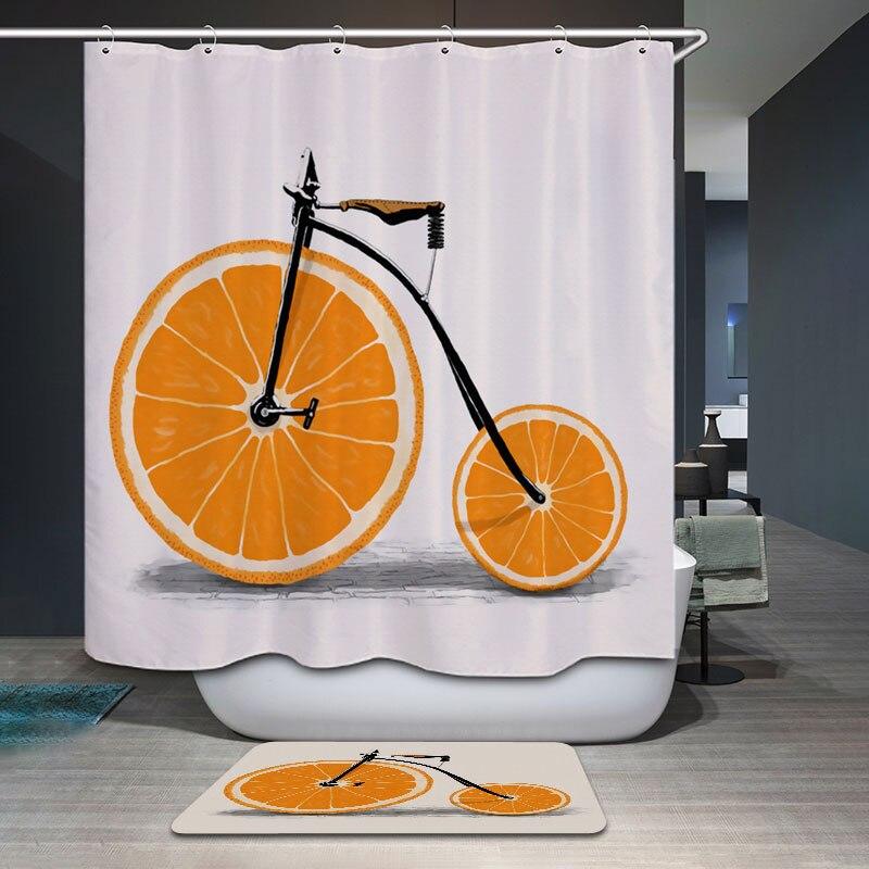 Popular Orange Shower Curtain Hooks Buy Cheap Orange Shower