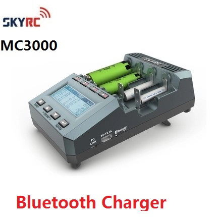 Original Genuine SKYRC MC3000 UNIVERSAL BATTERY CHARGER ANALYZER IPHONE / ANDROID APP image