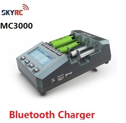 Original Genuine SKYRC MC3000 ANALISADOR CARREGADOR de BATERIA UNIVERSAL IPHONE/ANDROID APP