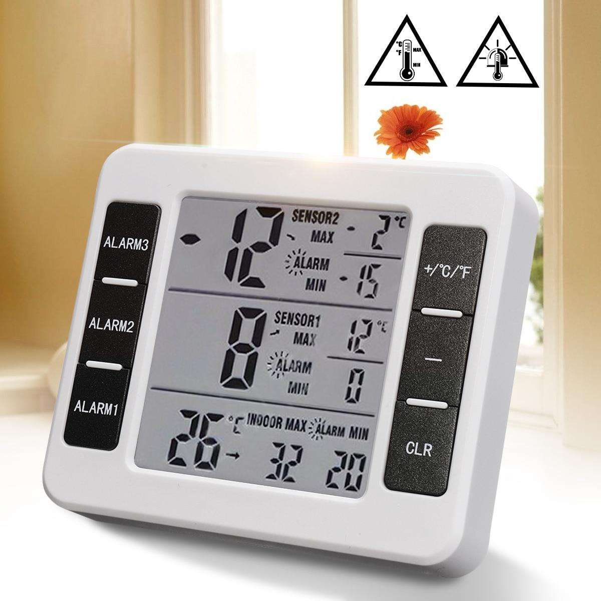 Mini Digital Thermometer Humidity Meter Room Temperature Indoor Lcd Thermohygrometer Hygrometer Htc 1 Ruangan Wireless Sensor Remote Control Max Min Recorder Alarm Display Universal