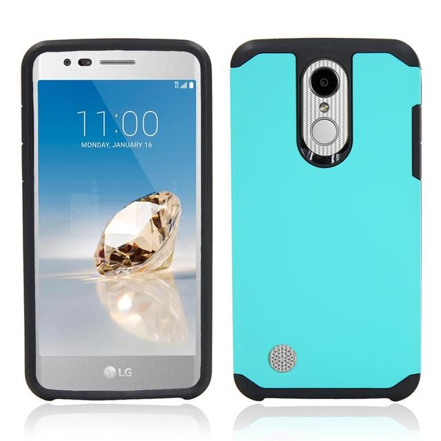 teal Phone case lg k20 5c64f48294531
