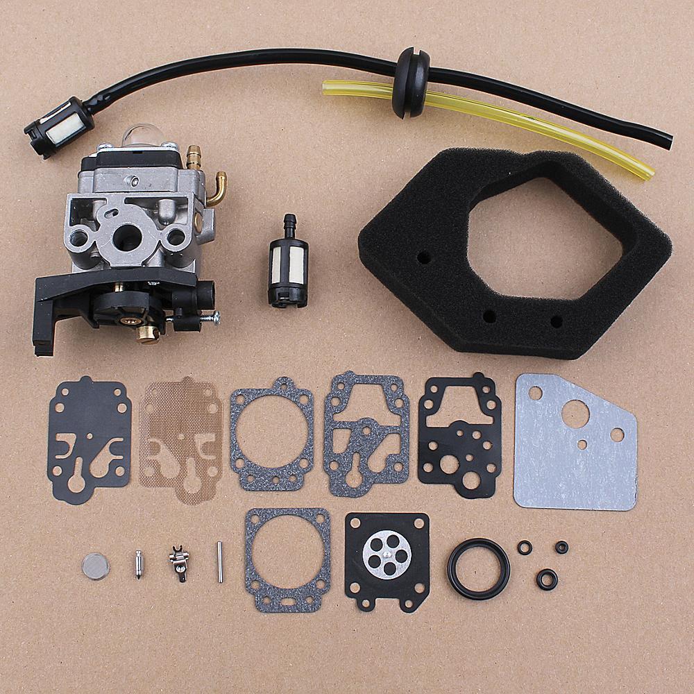 Carburetor Carb Repair Air Filter Kit For Honda GX25 GX25N GX25NT HHT25S FG110 FG110K1 Carb 16100-Z0H-825 16100-Z0H-053