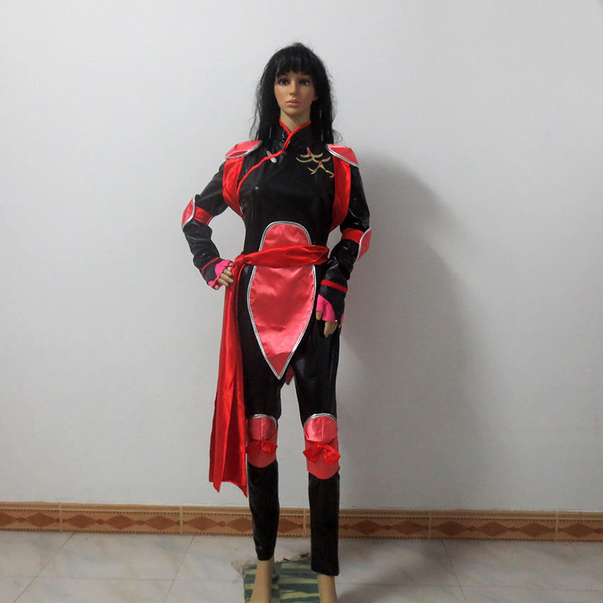 Us 55 2 20 Off Inuyasha Sango Cosplay Costume For Christmas Halloween Custom Made Any Size On Aliexpress