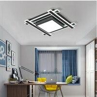 Luminerrec онлайн Minimalis современные светодио дный светодиодные потолочные светильники для гостиная спальня AC85 265V домашний декор освещение пото