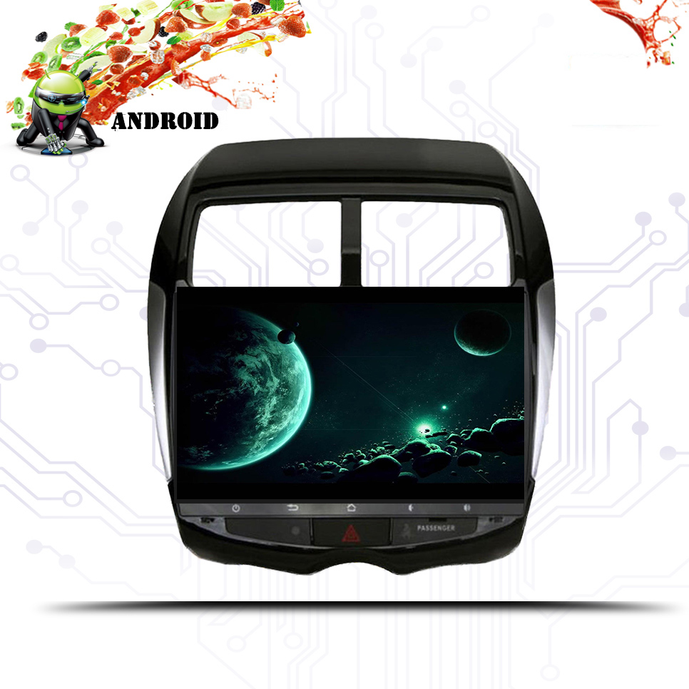 2 din 4+64G android 8.1 Car DVD Player multimedia For Mitsubishi ASX 2011 2012 2013 2014 2015 GPS Radio Stereo Navigation System