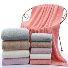 Coral velvet Towel set 1 beach towel and face 140*70cm+35*75cm  bath towels for adults Square Quick-Dry