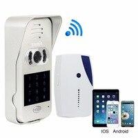 TIVDIO T 10D Video Door Phone Intercom System WiFi Wireless Door Bell Smart Home Doorbell For Apartment IR Vision Night F9502D