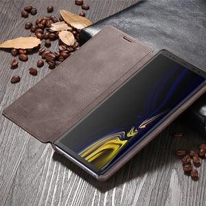 Image 2 - X Đẳng Cấp Sang Trọng Chất Lượng Hàng Đầu Retro Cổ Điển Lật Bao Da Dành Cho Samsung Galaxy Samsung Galaxy S8 S7 Edge S10e Plus Note 9 8 Note 7 5 Flip Cover