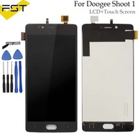 For Doogee Shoot 1 LCD Display Touch Screen 100 Tested LCD Digitizer Glass Panel Replacement For