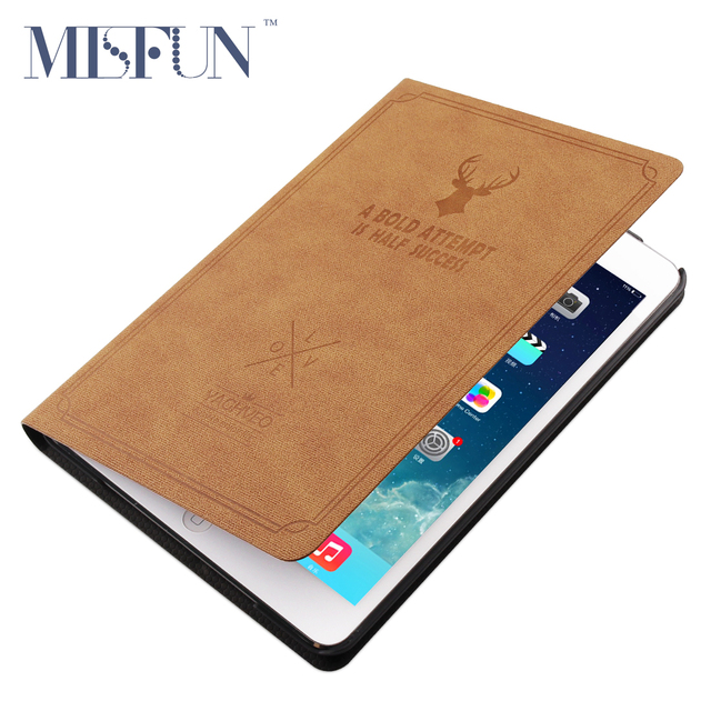 For ipad Air 2 / Air 1 Smart Case Magnetic Matte Leather Stand Cover for ipad Mini 1 2 3 ( Ipad 6 / 5 ) Fashion Auto Sleep/Wake