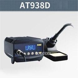Nowy AT938D lutowania stacja kontroli temperatury lutowania stacja wyświetlacz cyfrowy lutownica spawanie Station 110 V/220 V 60 W w Stacje lutownicze od Narzędzia na