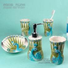ceramic peacock toothbrush holder soap dish bathroom accessories set kit cup wedding gifts crafts home decor porcelain figurines ceramic peacock toothbrush holder soap dish bathroom accessories set kit cup wedding gifts crafts home decor porcelain figurines
