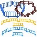 Создатель города Большой Размеры зоопарк загородки сада фермы с двухсторонним движением набора кирпичи большие частицы строительные блок...