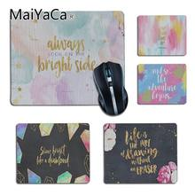MaiYaCa Luxury Elegant Wallpaper for Desktop Girly Laptop Computer Mousepad Soft Rubber Professional Gaming Mouse Pad Computer(China)