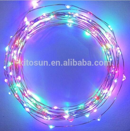 10M 33FT 100 led 3 AA Battery Powered Decoration LED Copper Wire Fairy String Lights Black friday deals for Christmas Party