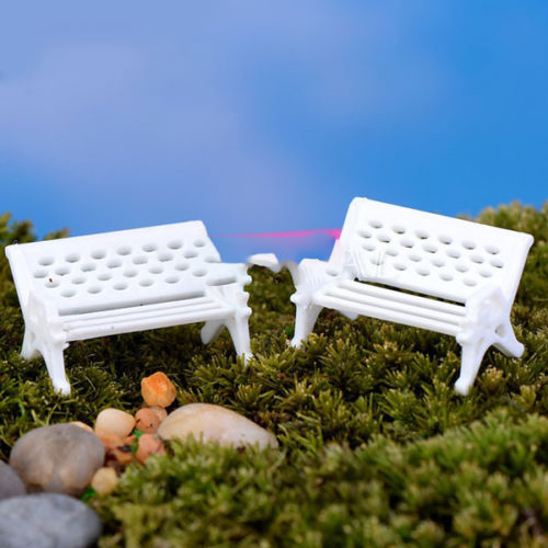 2017 Top Selling Miniatures Dollhouse Furniture Mini Chair Bench Stool  Ornaments Wooden Props Home Garden Decor. Online Buy Wholesale miniature garden furniture from China