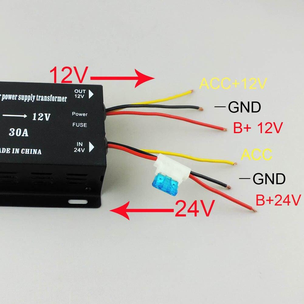 Dc Converter 24v To 12v Billedgalleri Saude Mental Step Up Circuit Lm2588adj Down 30a 360w Use For Trucks Audio Subwoofer Dvd