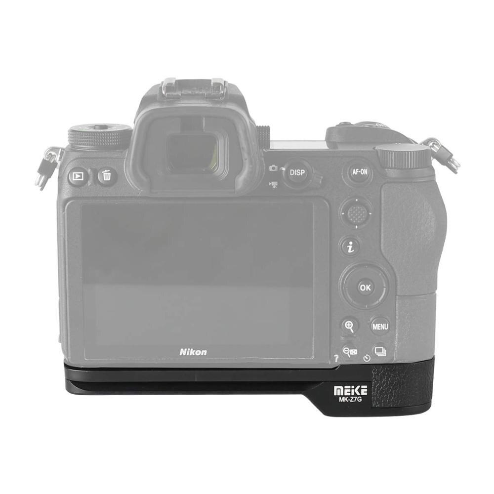 Meike MK Z7G pour Nikon Z6 Z7 poignée en alliage d'aluminium fixation rapide plaque L support-in Extensions de batterie from Electronique    1
