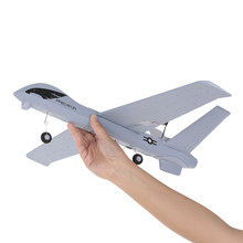 Z51 RC Drone 2.4G 2CH Predator Remote Control RC Airplane 660mm Wingspan Foam Hand Throwing Glider DIY Kit for Kids Beginners(China)