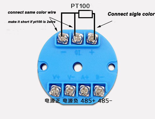 Aliexpress.com : Buy Free shipping 1PC PT100 temperature transmitter ...