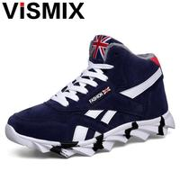 VISMIX Men S Snow Boots New 2017 Fashion Men Winter Warm Fur Plush Snow Shoes Autumn