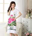 Female Sleepwear Fashion Nightgown Robe Bath Gown Cotton Sleep Tops Nightdress Nuisette Pijama Mujer One Size X34023