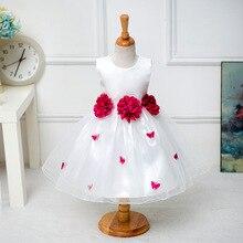 2-8Y De Noël filles fleur robe papillon princesse pour la fête de mariage âge taille 2 t 3 t 4 5 6 7 8 ans bébé à adolescente