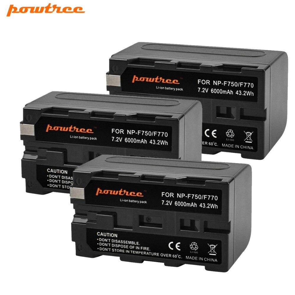 3 pièces NP-F750 NP-F770 NP F750 NP F770 Batterie Pour Sony CCD-TR917 CCD-TR940 CCD-TRV101 CCD-TRV215 CCD-TRV25 CCD-TRV36 L10