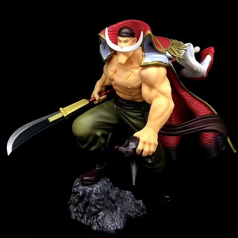 30CM Japanese anime figure one piece Edward Newgate  fighting ver action figure collectible model toys for boys30CM Japanese anime figure one piece Edward Newgate  fighting ver action figure collectible model toys for boys