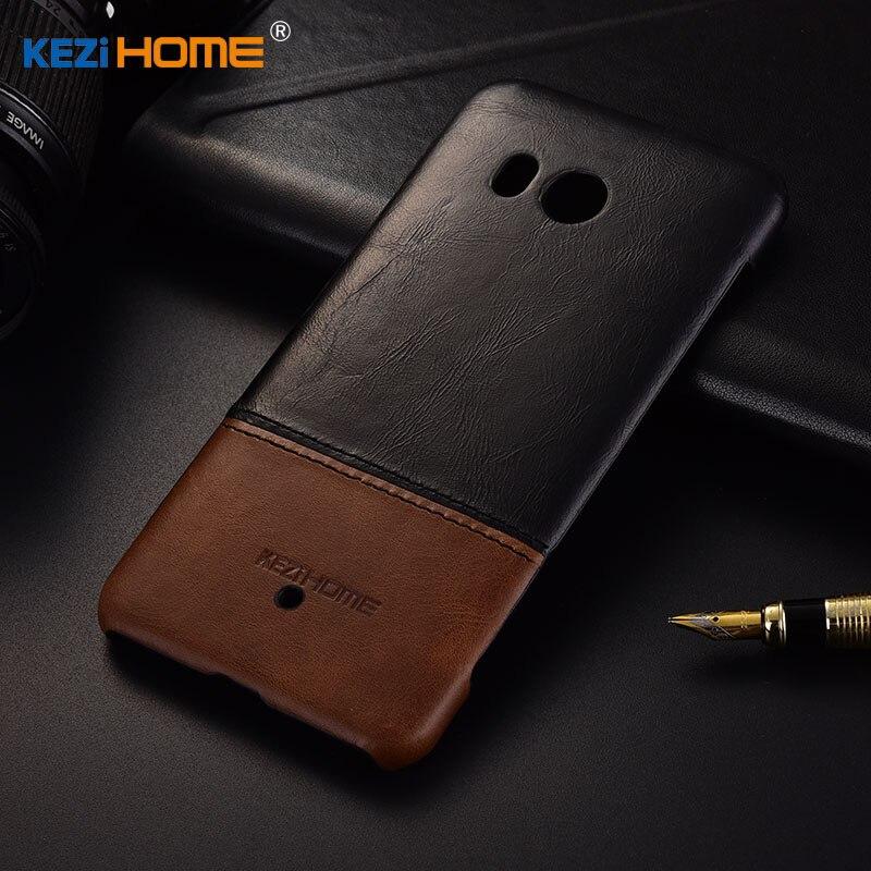 Für HTC U11 Fall Luxus Original Harte Rückseitige Abdeckung Für HTC U11 Plus Hohe Qualität Aus Echtem Leder Telefon Fall Für HTC U12 Plus