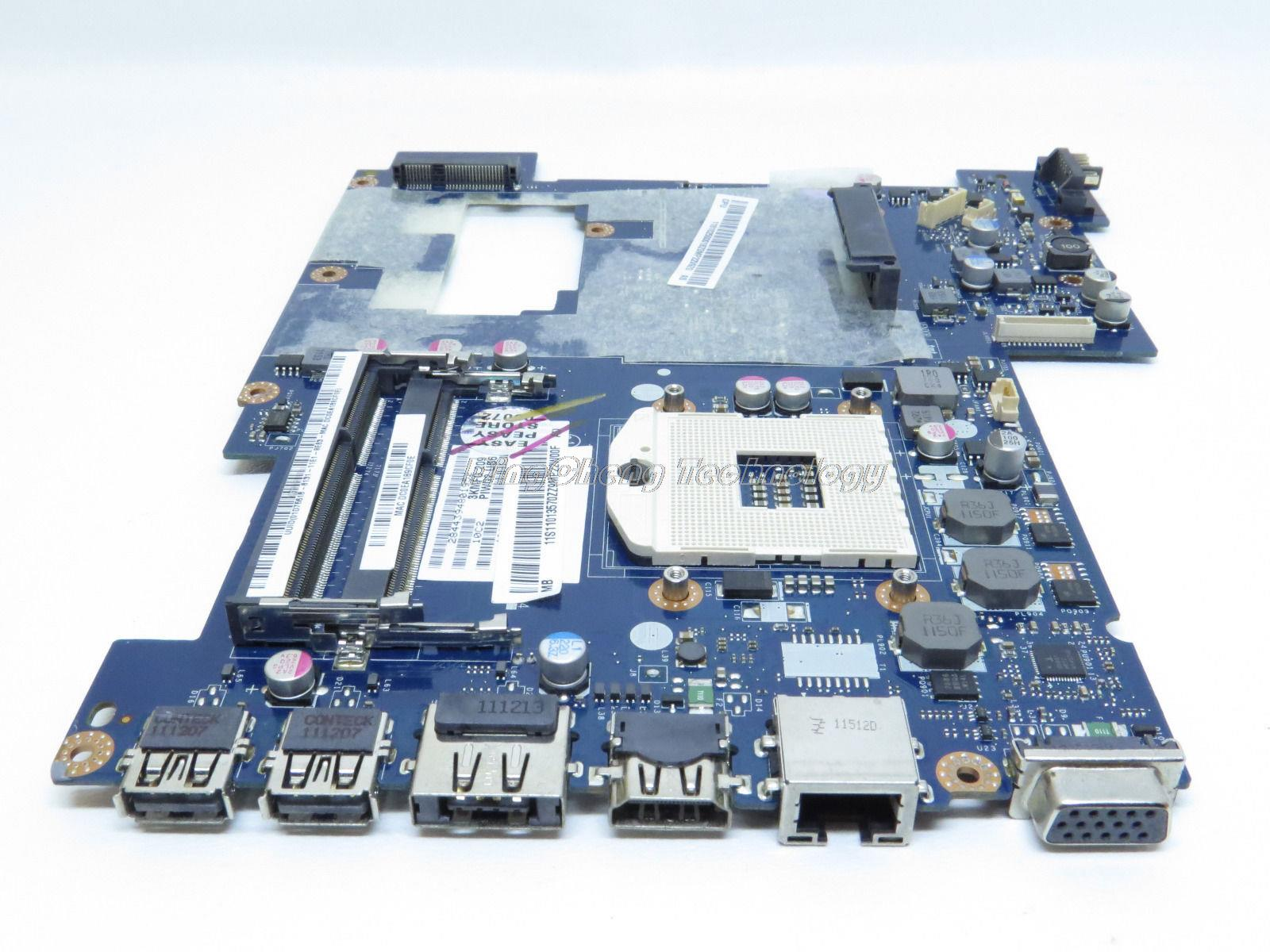 SHELI laptop Motherboard for Lenovo G570 LA-675AP PIWG2 with integrated graphics card HM65 HDMI 100% tested Fully
