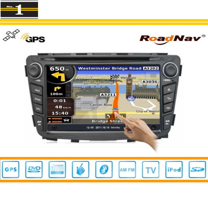 Para Hyundai Solaris 2011 ~ 2013 la Radio de Coche de Audio y Vídeo Estéreo de C