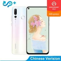 Original HUAWEI NOVA 4 Smartphone 6.4 inch Full Screen Nova4 Kirin 970 Octa Core Phone 8G RAM Micro Intelligent i7 Mobile Phone