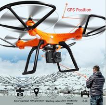 Profesional GPS RC remote control quadcopter drone 2.4G terus sikap menyesuaikan gimbal dengan 006 1080 P HD kamera vs CG035