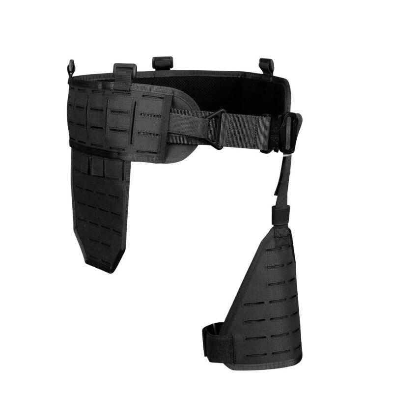 Outils d'extérieur Ultra-large 1000D Nylon élastique respirant rapide détacher ceinture abdominale étui porte accessoire de chasse - 2