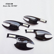 Door Handle Bowl Covers for Mazda 3 Axela 2015 2017 Chrome Trim Car Styling Stickers Auto Accessories & Part 4 Pcs цена