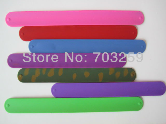 Free Shipping 200pcs Lot Hip Silicone Slap Bracelets Wristband Snap Band On Wrist Bracelet Without Logo In Id From Jewelry