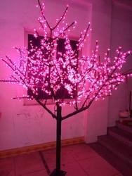 Gratis schip LED Kersenbloesem Boom Licht Kerst Holiday Party wedding home Boom Licht 1152 stks LEDs 6.6ft roze waterdicht