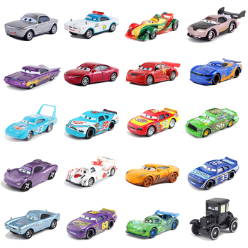 Disney Pixar Cars 2 Mater Jackson Storm Ramirez 1:55 Diecast Metal Alloy Model Toy Cars 3 Childrens Gifts Free Shipping image