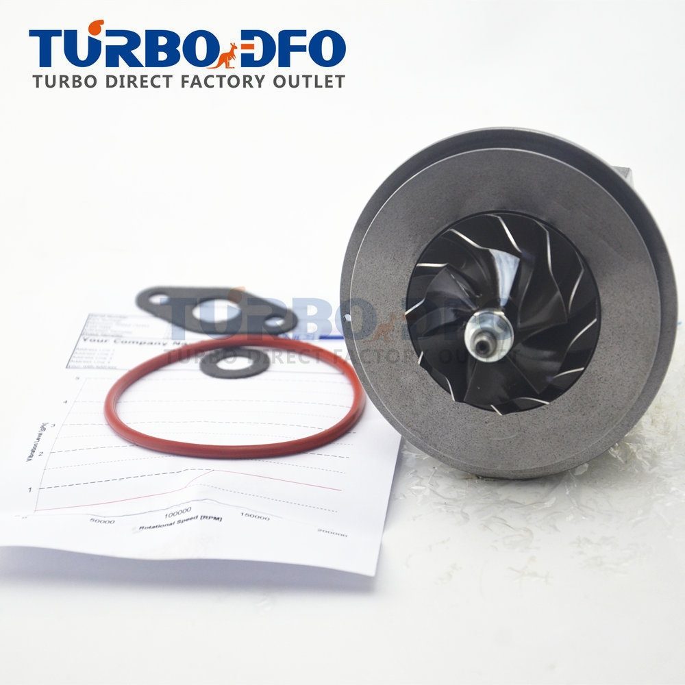CHRA turbolader 491335-03101 49135-03101e for Mitsubishi Delica 2.8 D 4M40 turbocharger cartridge core ME201677 blanced turbine цены