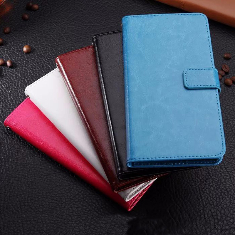 Wallet Style Flip Leather Case For <font><b>Lenovo</b></font> <font><b>S60</b></font> S580 S660 S810T S820 S90 S850 S860 C2 S1 Lite Protective Shell Cover Cases Coque image