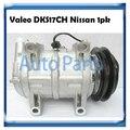 Valeo DKS17CH ac compressor for Nissan NP 300 2.5 92600-2TB0A 926002TB0A Z0009565A 506211-8510A