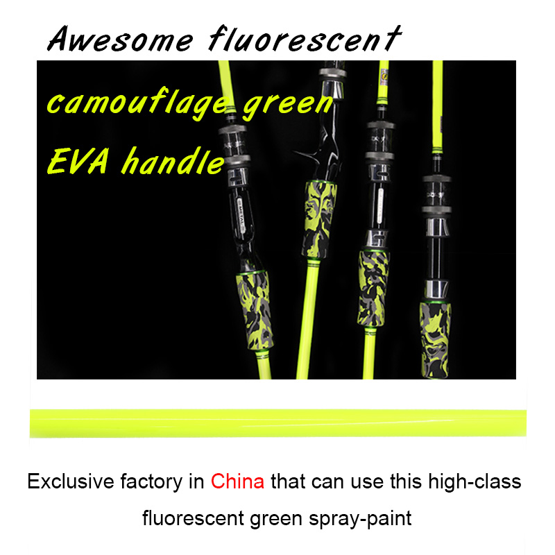 99% Carbon 1 Section Slow Jigging Rod Fishing Rod FUJI Reel Seat Slow Pitch Jig Rod Green Rod Fishing Store 1 65m 1 8m high carbon jigging rod 150 250g boat trolling fishing rod big game rods full metal reel seat sic guides eva handle