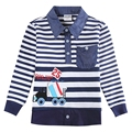 Мальчик одежда мальчики футболки новинка novatx дети одежда вышивка отложным длинным рукавом бобо выбирает детей футболки 5832a